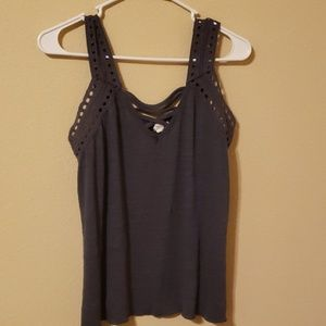 Maurices Tops - Eyelet tank